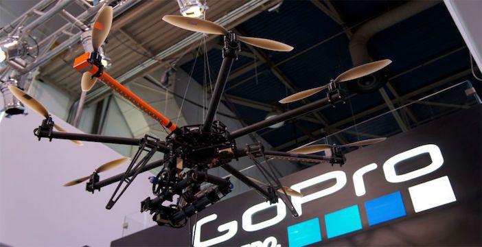 drone go pro