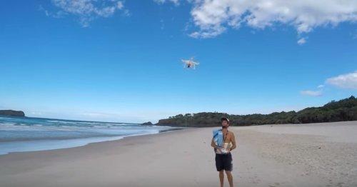 pesca droni