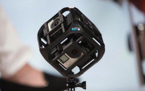 Go Pro Six-Camera Spherical Array