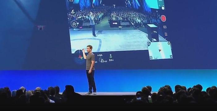 facebook droni live api
