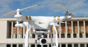 Drone in mostra
